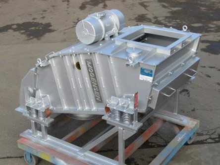 Máquina de cribado Mogensen C1016: Cribado de cenizas calientes de fondo de horno