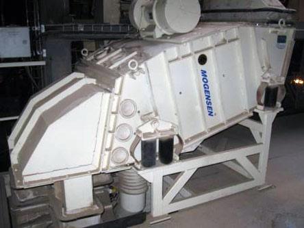 Máquina de cribado Mogensen C1034: Rollos de pulido y despuntado, pellets y recubrimiento