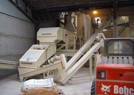 Mogensen ESRSL & Special Single Deck Screen: Screening Grain