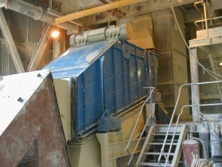 Mogensen ETRS 4270 1500-L1056 Screener: Processing Burnt Lime