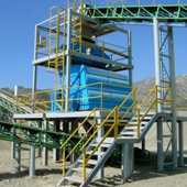 Mogensen S3056 Sizer: Processing Crushed Aggregates